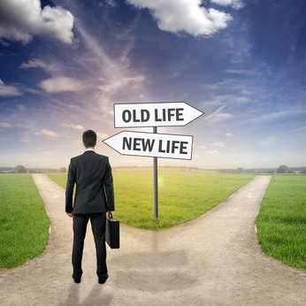 Man on the Road / Old Life / New Life